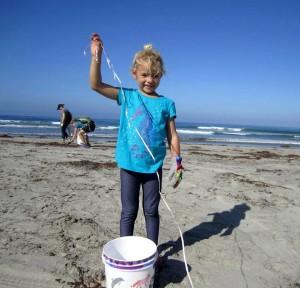Cecil Knutson CA Coastal Cleanup 2015